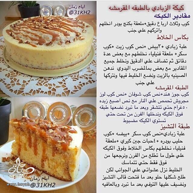 طريقة عمل كيكه الزبادي بالطبقه المقرمشه Food Garnishes Ramadan Desserts Dessert Recipes