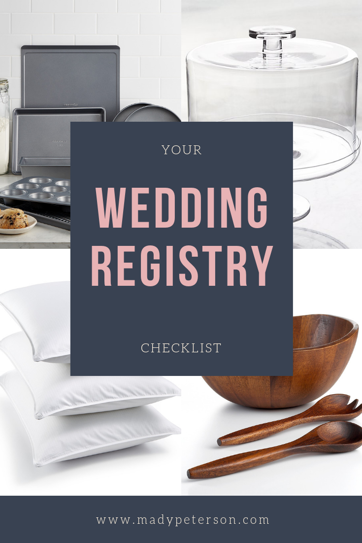 Wedding Registry Checklist 10 MustHave Items to Add to