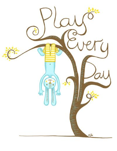 Play Every Day / Artwork by Emily Balsley