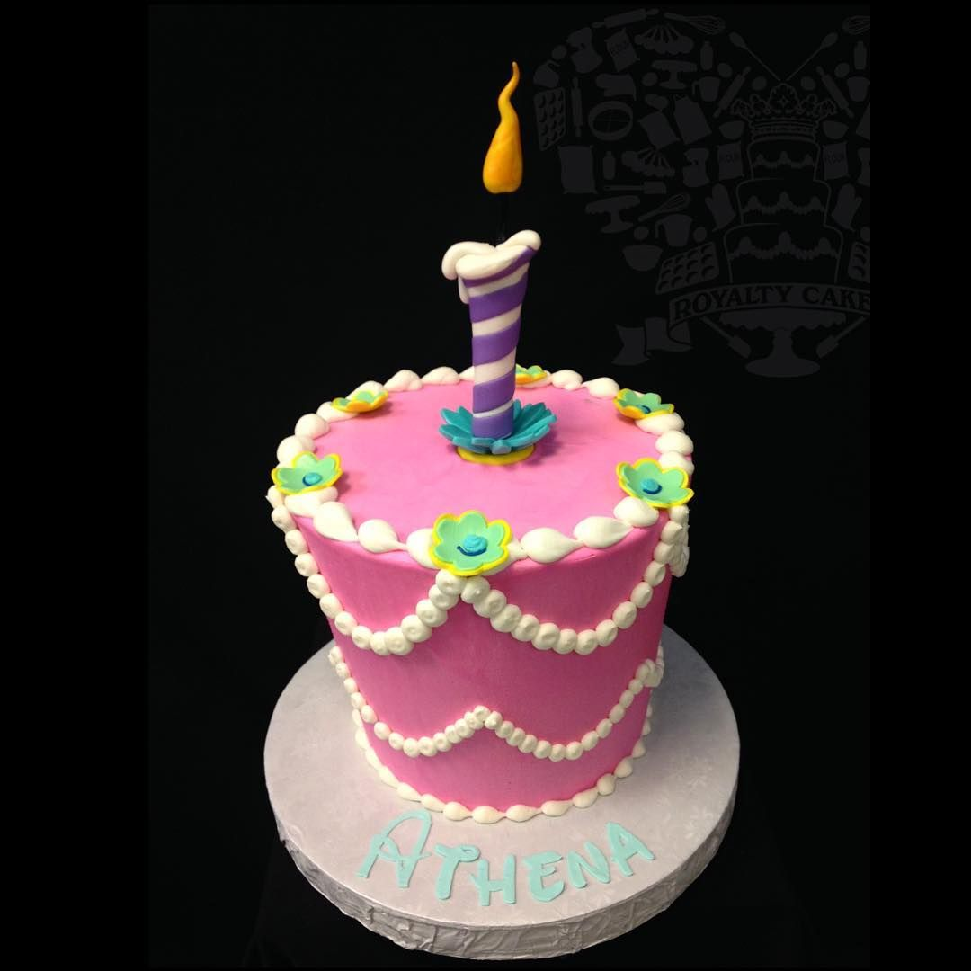 Happy Unbirthday To You Alice In Wonderland Buttercream Cake