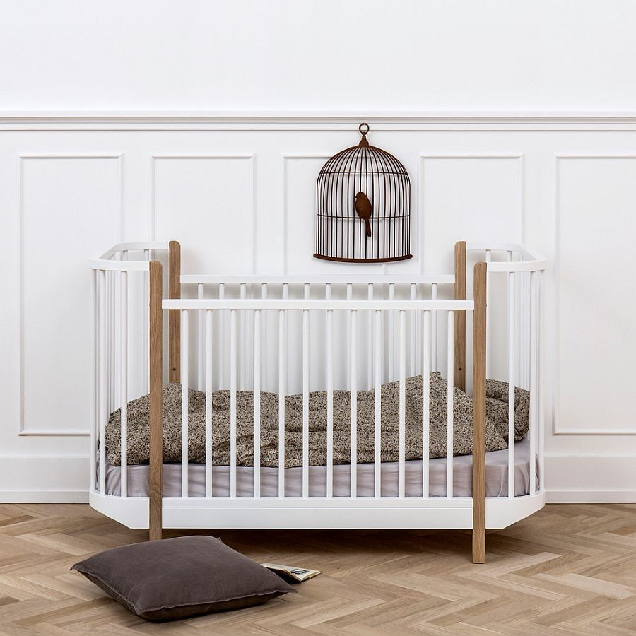 Furniture ideas for the neutral color scheme Scandinavian nursery