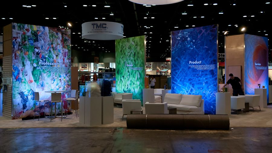 Design Trade Shows trade show photo booth | trade show displays - custom  polymers
