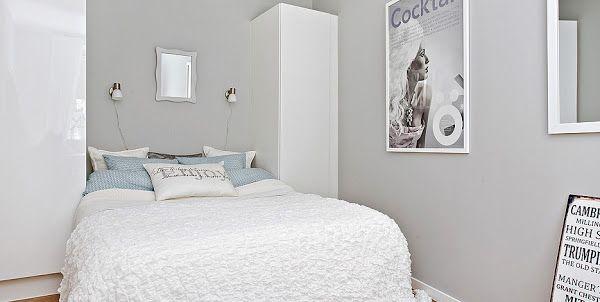Gris, blanco y espacios bien aprovechados en 55 M2