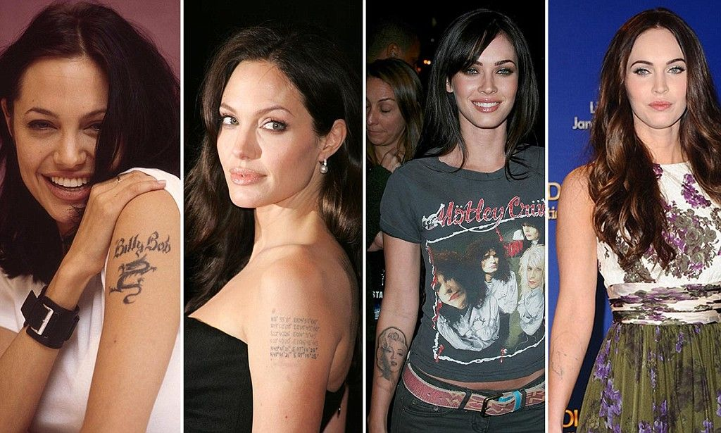 Tattoo Removals Surge 440 As Thousands Follow In Footsteps Of Actresses Angelina Jolie Megan Fox And Eva Longoria Dallas Tattoo Tattoo Removal Laser Tattoo Removal