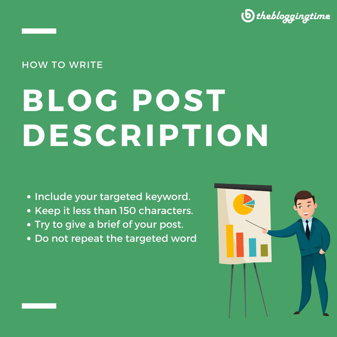 How to write #blog #post Description  Learn blogging, How to