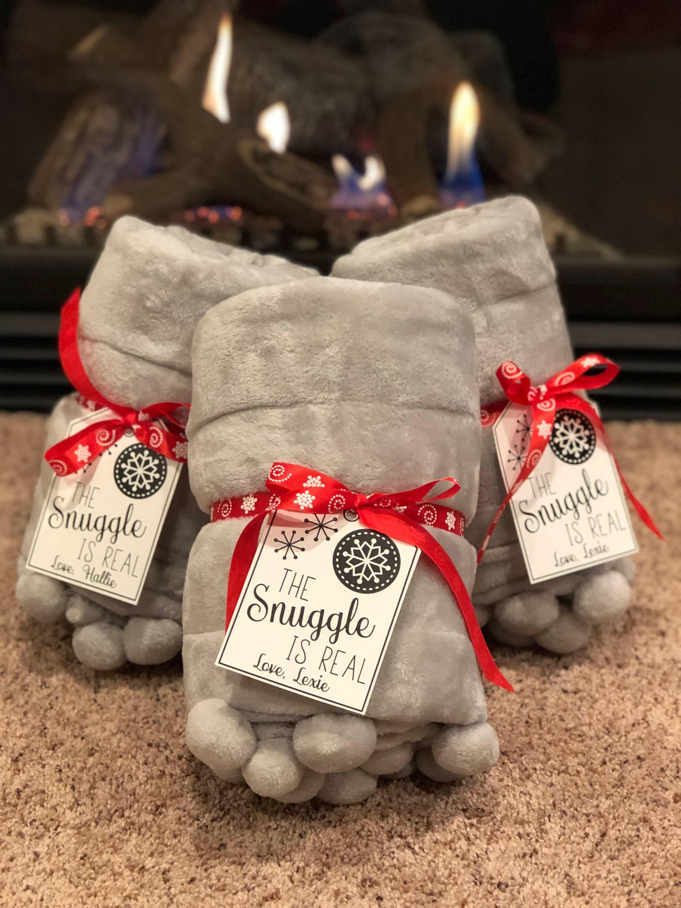 The Snuggle Is Real Tags Personalized Holiday Tags Printable