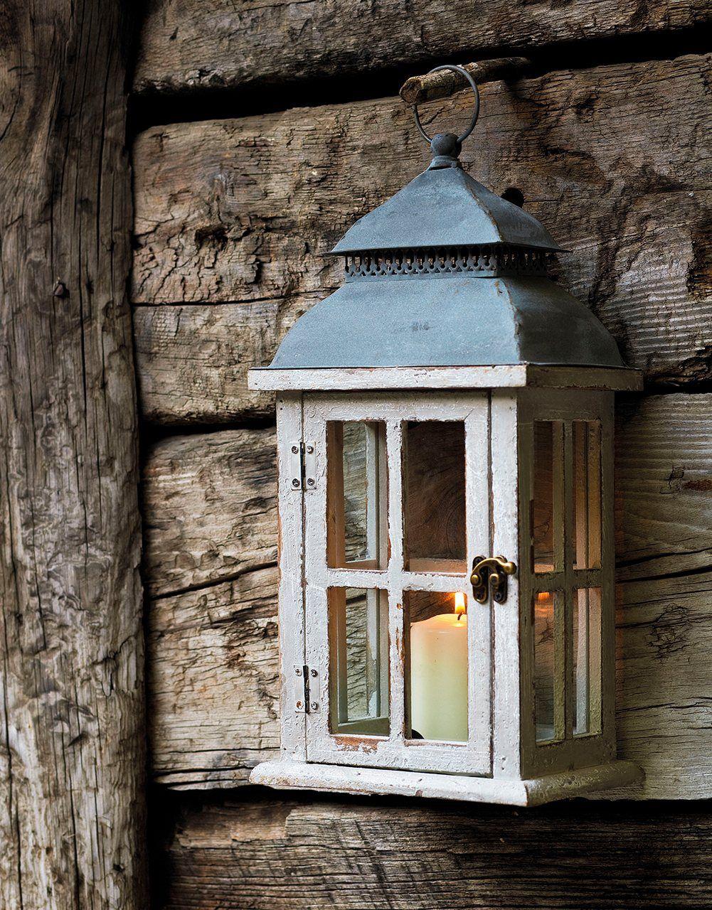 Portavelas colgante en forma de farolillo con puerta de - Faroles portavelas exterior ...