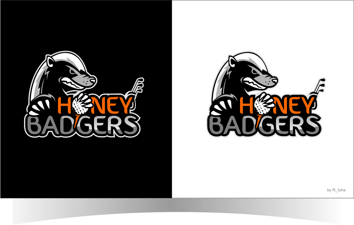 Logo Design by r-toha for Golf Competition team name is Honey ... for Creative Logo Designs Ideas R  113cpg