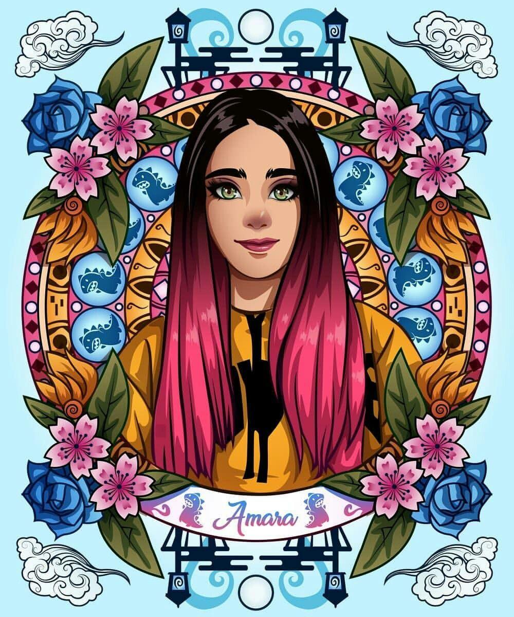 Pin De Krissty Alice Arauz Espinosa En Amara Que Linda En