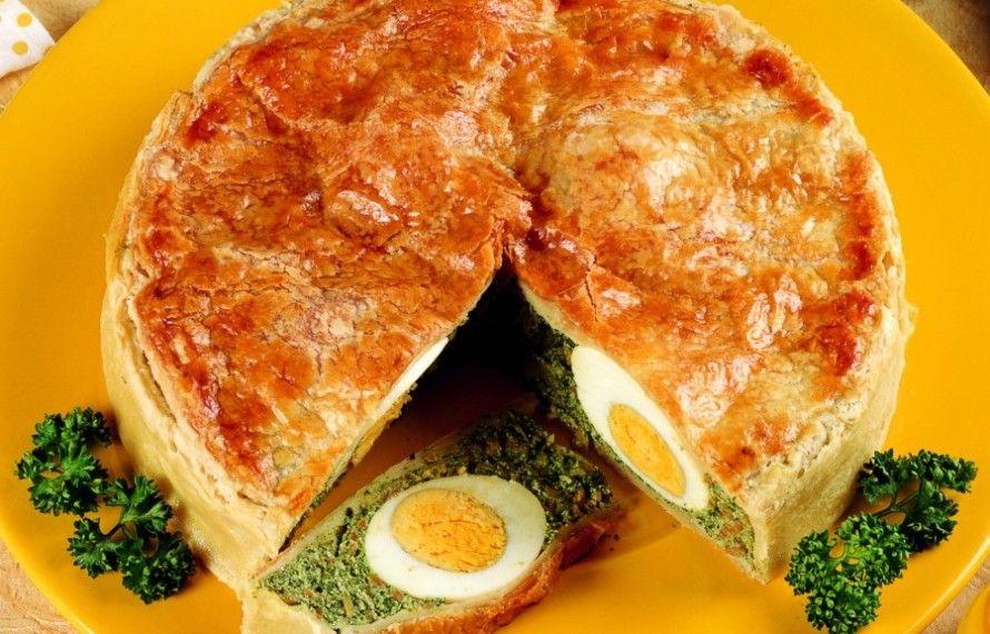 Italian Sfoglia Cake Recipes: Torta Salata Di Pasqua
