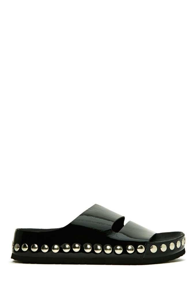 Jeffrey Campbell Jerez Studded Sandal - Black