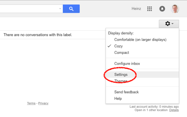 how to create an email template in gmail