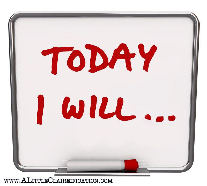 Ja.... wat ga jij vandaag doen?