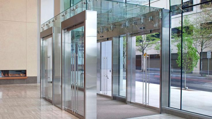 Lobby Design Vestibule, Glass Vestibule Entry