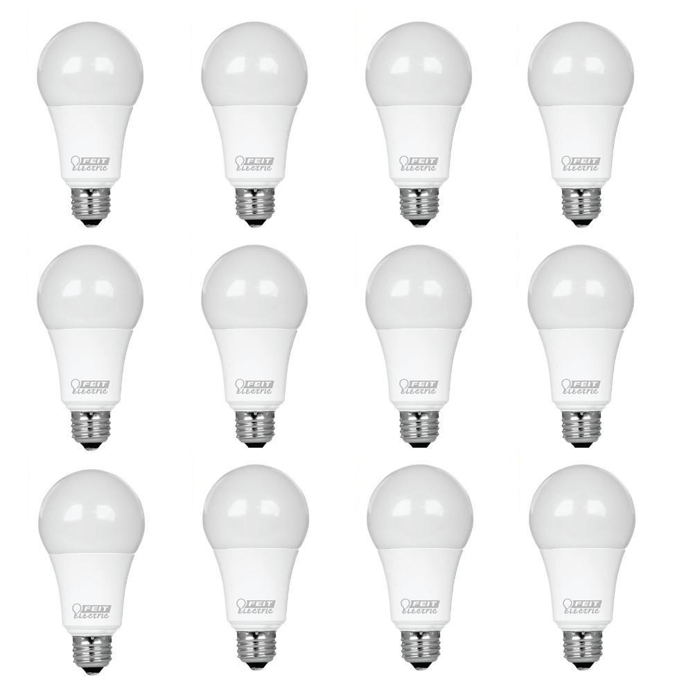 Feit Electric 100 Watt Equivalent Omni A19 5000k Dimmable Led Energy Star Light Bulb Daylight Bpom100 850 Ledg2 Light Bulb Dimmable Led Lights Bulb