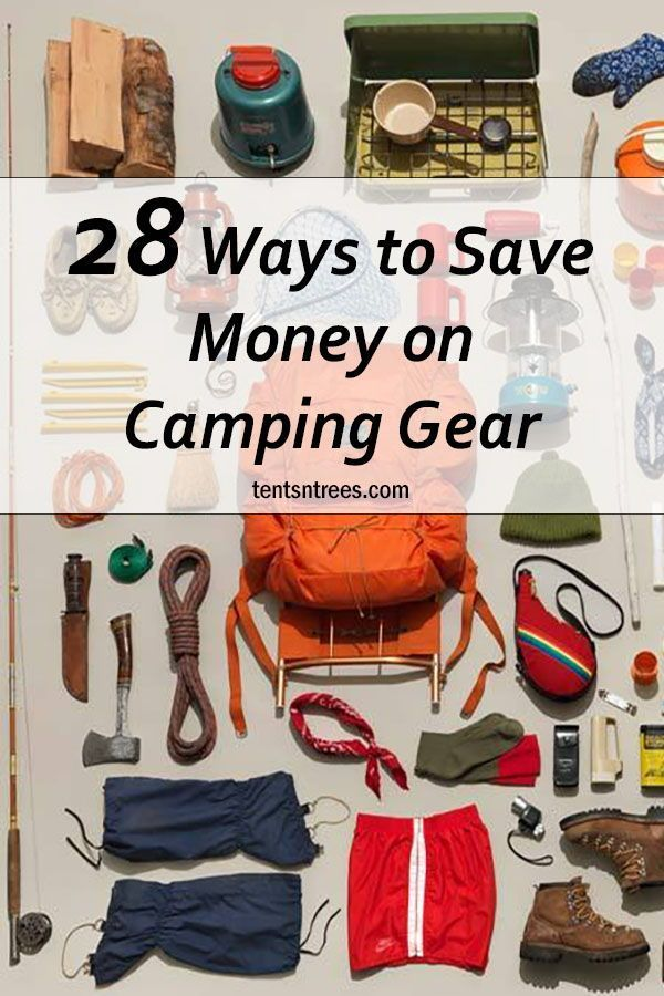 Photo of Seriously, you don't have to spend a ton of money on camping gear. There are lot…