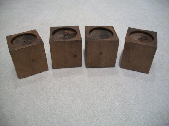 Set -- 4 Alder Wood