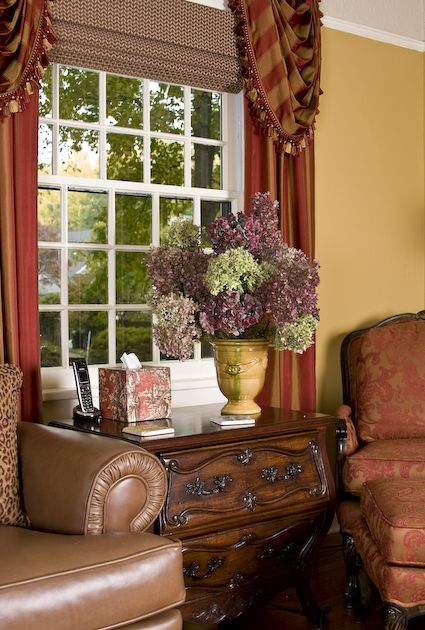 french country living room decor | Living Room - French Country, French country remodel of a living room ...