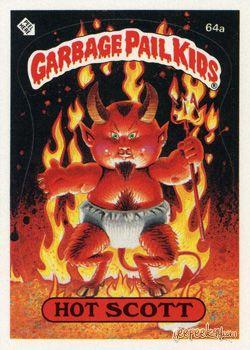Garbage Pail Kids Original Series 2 Card Collection Garbage Pail Kids Garbage Pail Kids Cards Garbage