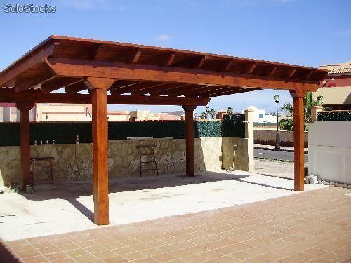 Cobertizos pergolas quinchos terrazas marquesinas for Casas con cobertizos