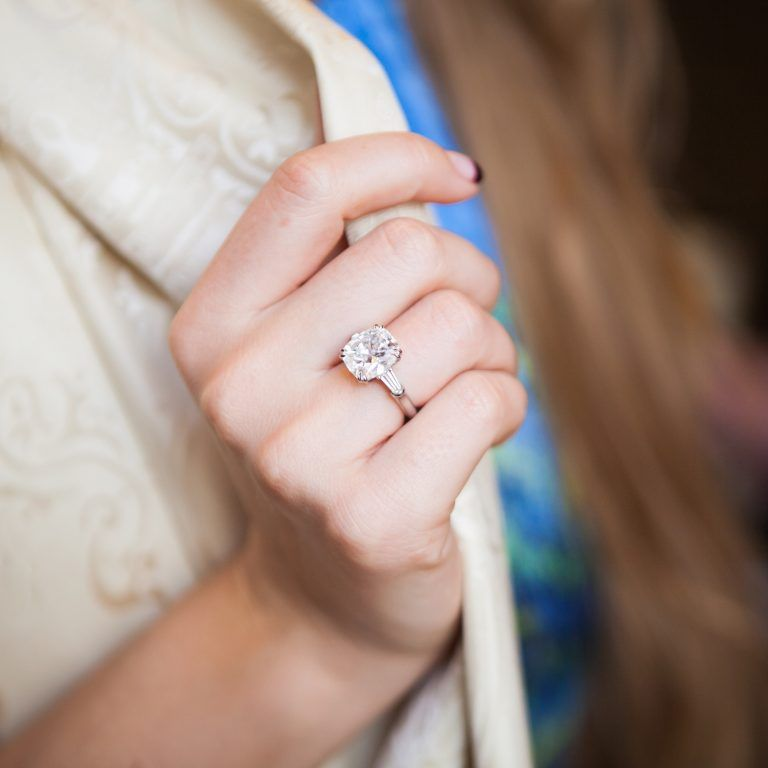 Harry Winston Cushion Cut Engagement Ring - Blair Waldorf ...