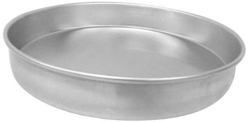 Allied Metal Cp15x1 Hard Aluminum Pizza Cake Pan Straight Sided 15 By 1 Inch Pizza Cake Cake Pans Round Cake Pans