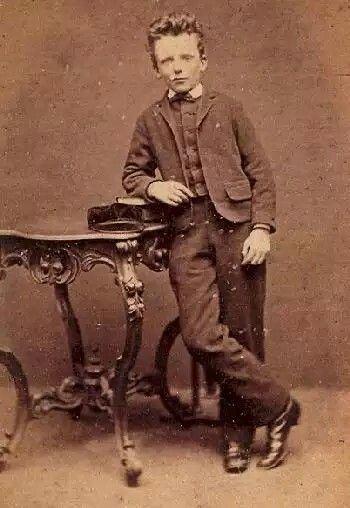 Theo Van Gogh a los 13 años (1857-1891)