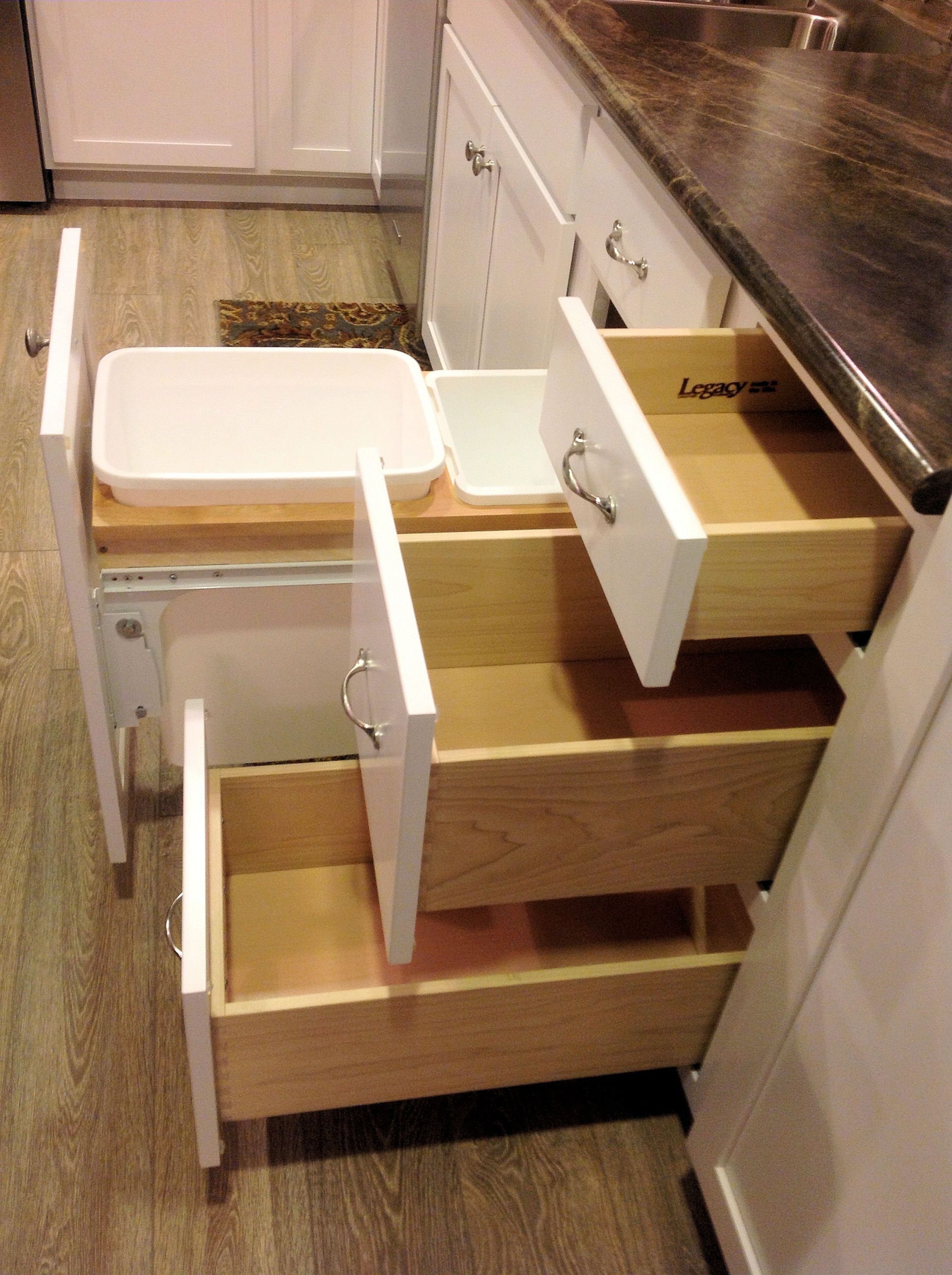 Full Extension Cabinet Drawers Custom Kitchens