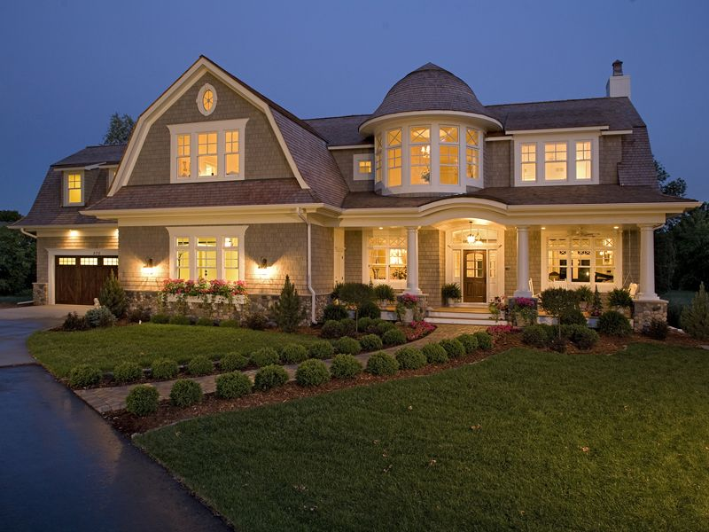 Luxury House Front