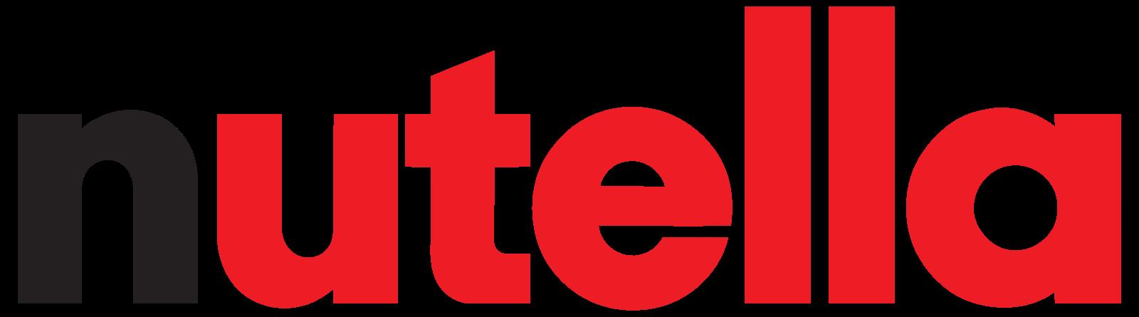 Nutella Logo | Logos | Pinterest | Nutella, Logos and Food ...