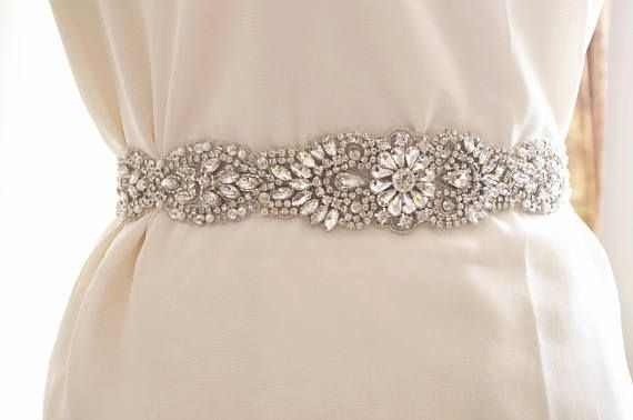 apliques de faja de diamantes de imitación, apliques de cristal para boda marco, correa del marco nupcial del rhinestone, marco nupcial del arte suministros