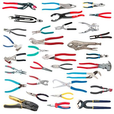 Everyone has a pair of pliers somewhere in their home. As one of the most useful tools out there, there are a LOT of variations. Here are 33 different types of pliers, their uses, and pictures....