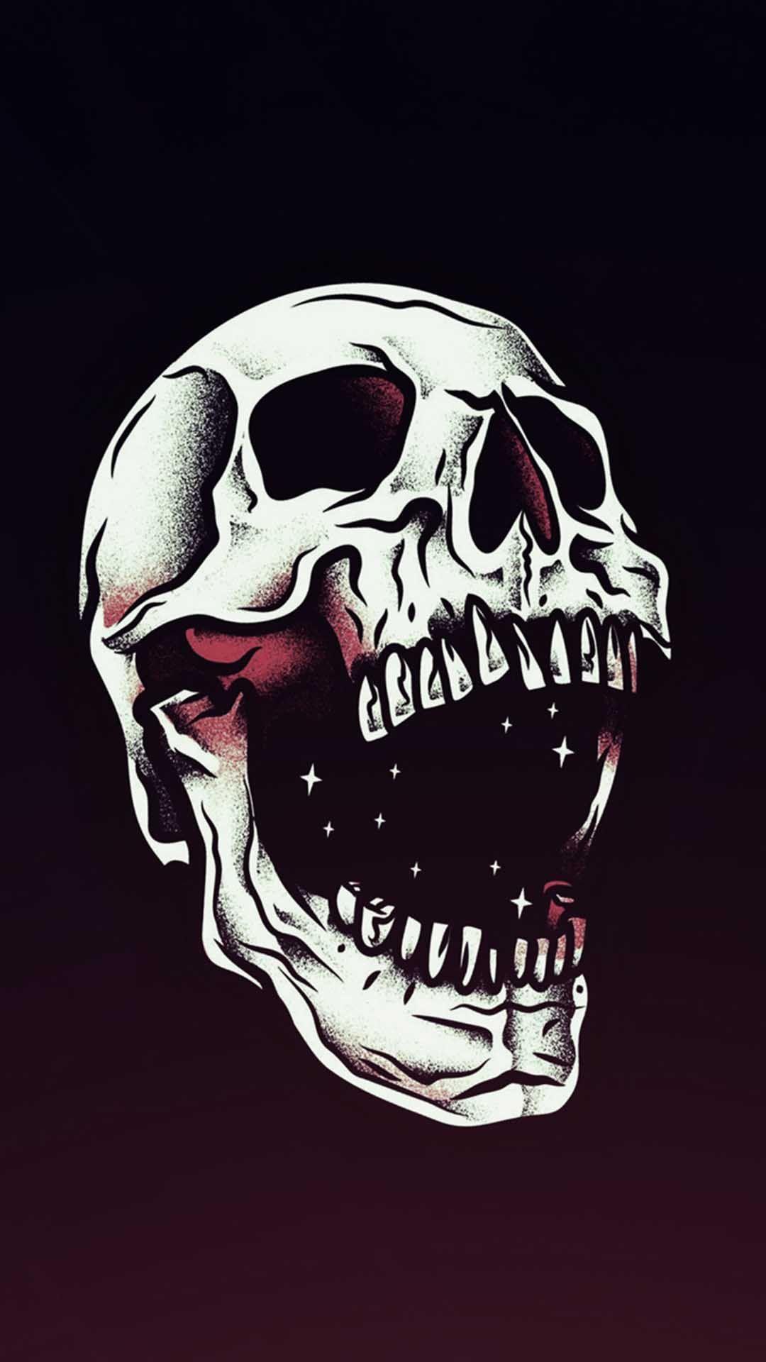 Mysterious iPhone wallpaper iPhone Wallpaper Skull