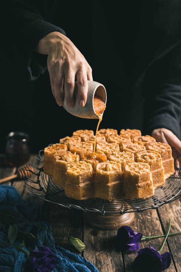 South Indian Honey Cake
