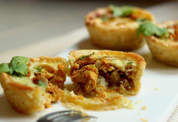 Quiche au poulet oignon et curry au thermomix thermomix - Recette de cuisine quiche au poulet ...