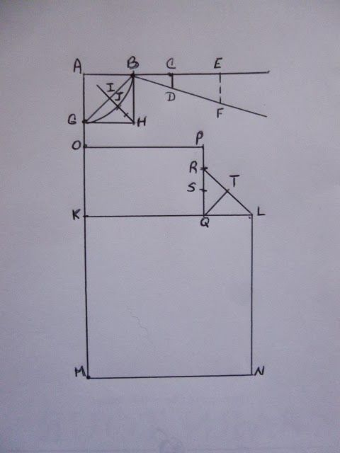 Begin By Drawing A Right Angle And Labeling The Corner As Point A