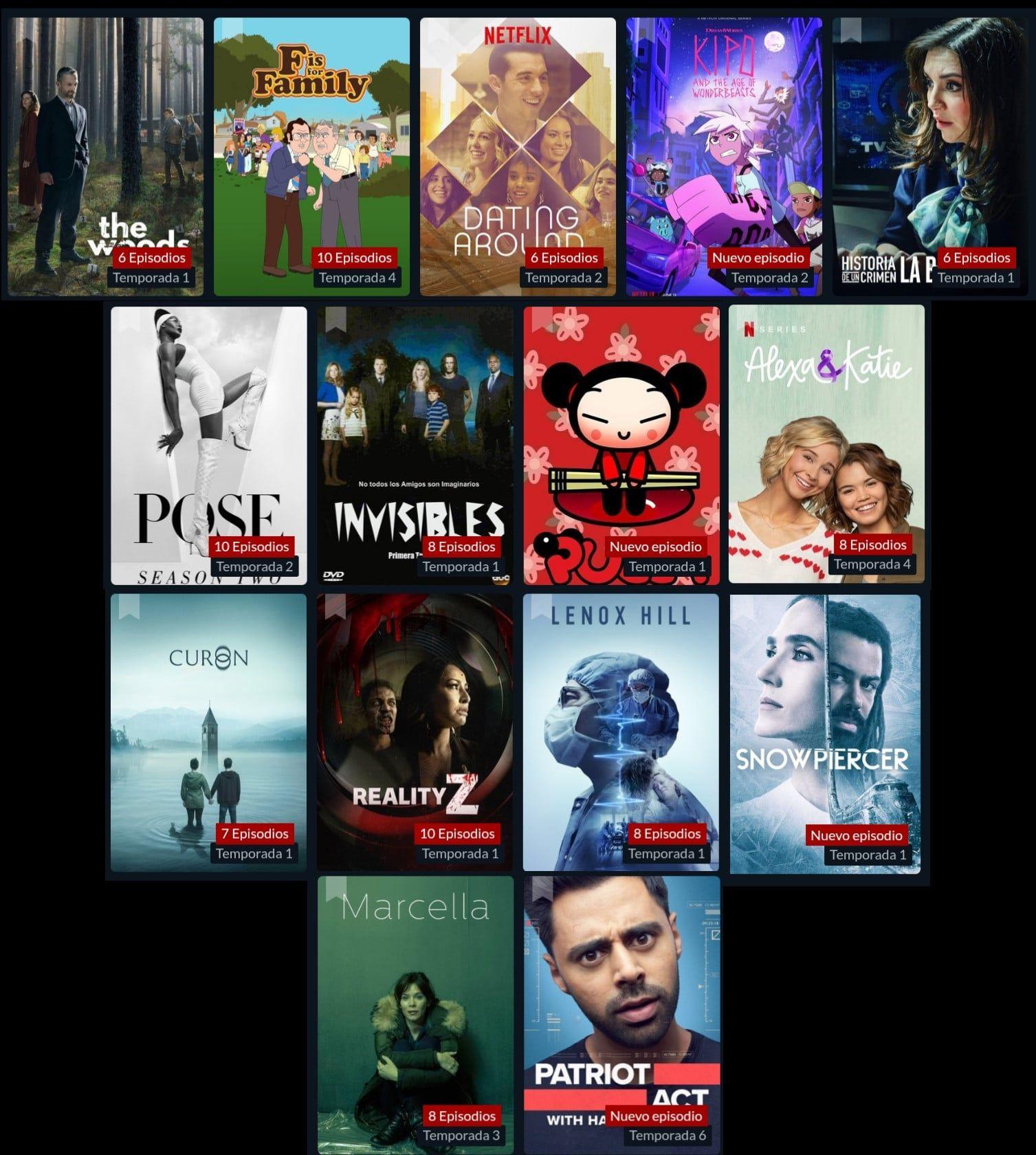 Series Netflix Producciones originales y exclusivas de