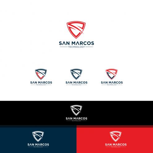 San Marcos Technology San Marcos Technology Winner Client Testimonial Selected Contest Design Logo Design Contest Logos Design