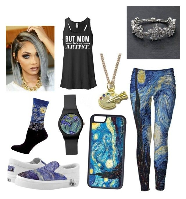 """""""Untitled #163"""" by love-me-you-fool on Polyvore featuring Hannah Makes Things, CellPowerCases and HOT SOX"""