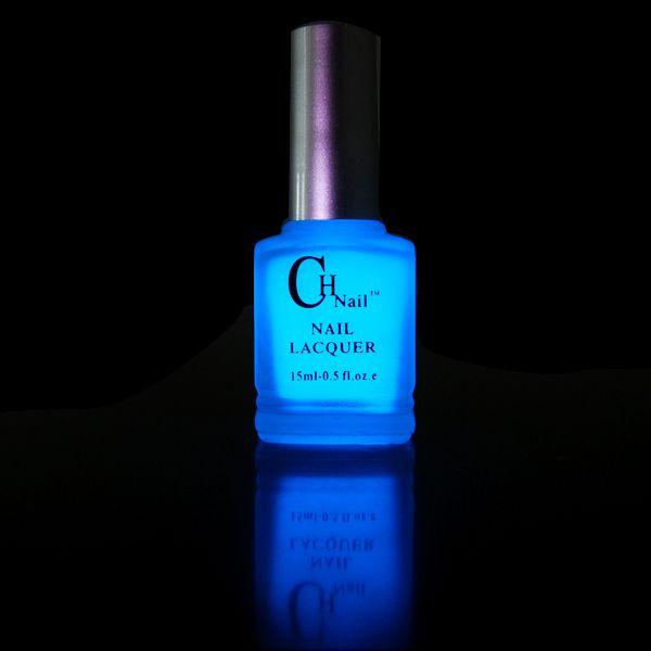 $4.99 15ml Fluorescent Neon Luminous Nail Art Polish varnish Glow in ...
