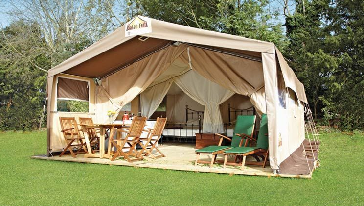 Try your hand at gl&ing in our stylish Safari Tents without compromising on comfort! & Try your hand at glamping in our stylish Safari Tents without ...