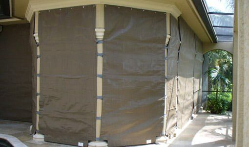 Fabric Storm Panels: Hurricane Protection for Your Home   Today's Homeowner