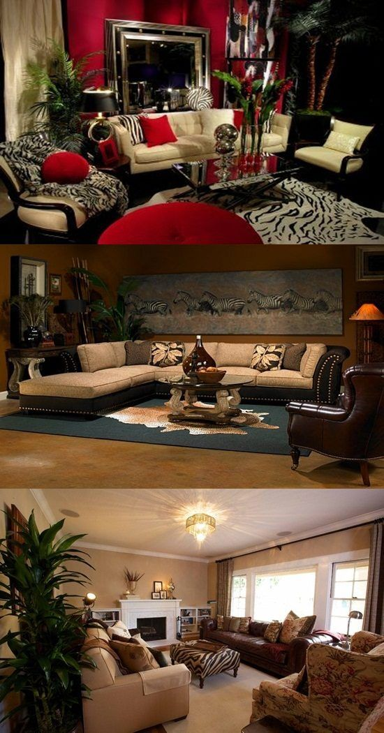 African Safari Living Room Ideas If You Love Adventures Beauty And Calmness Of Nature Y African Living Rooms Safari Living Rooms African Themed Living Room