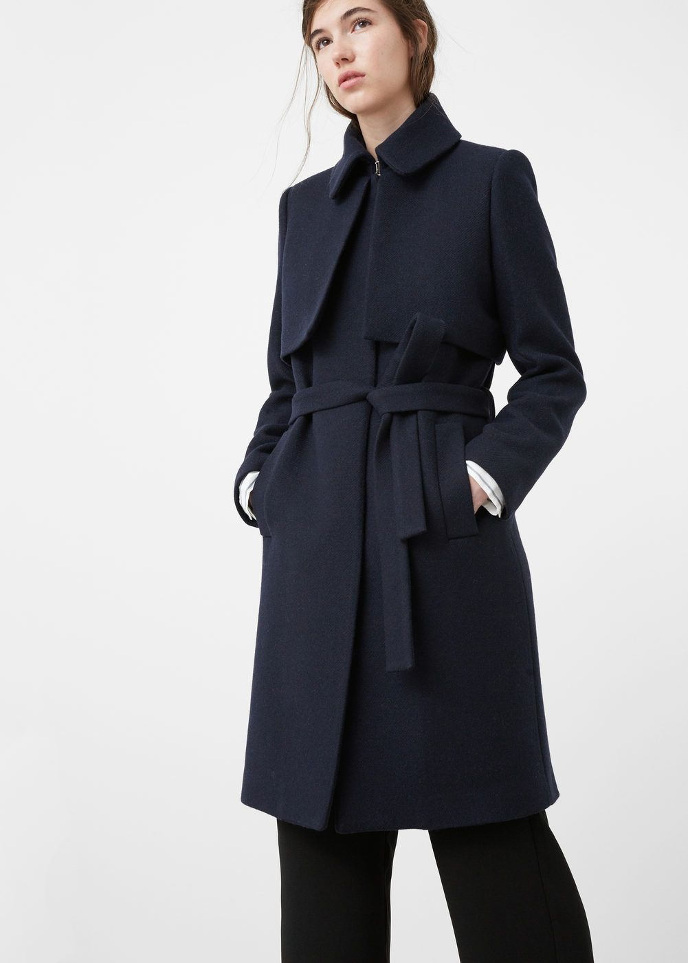 Belted wool coat | Wool coats and Coats