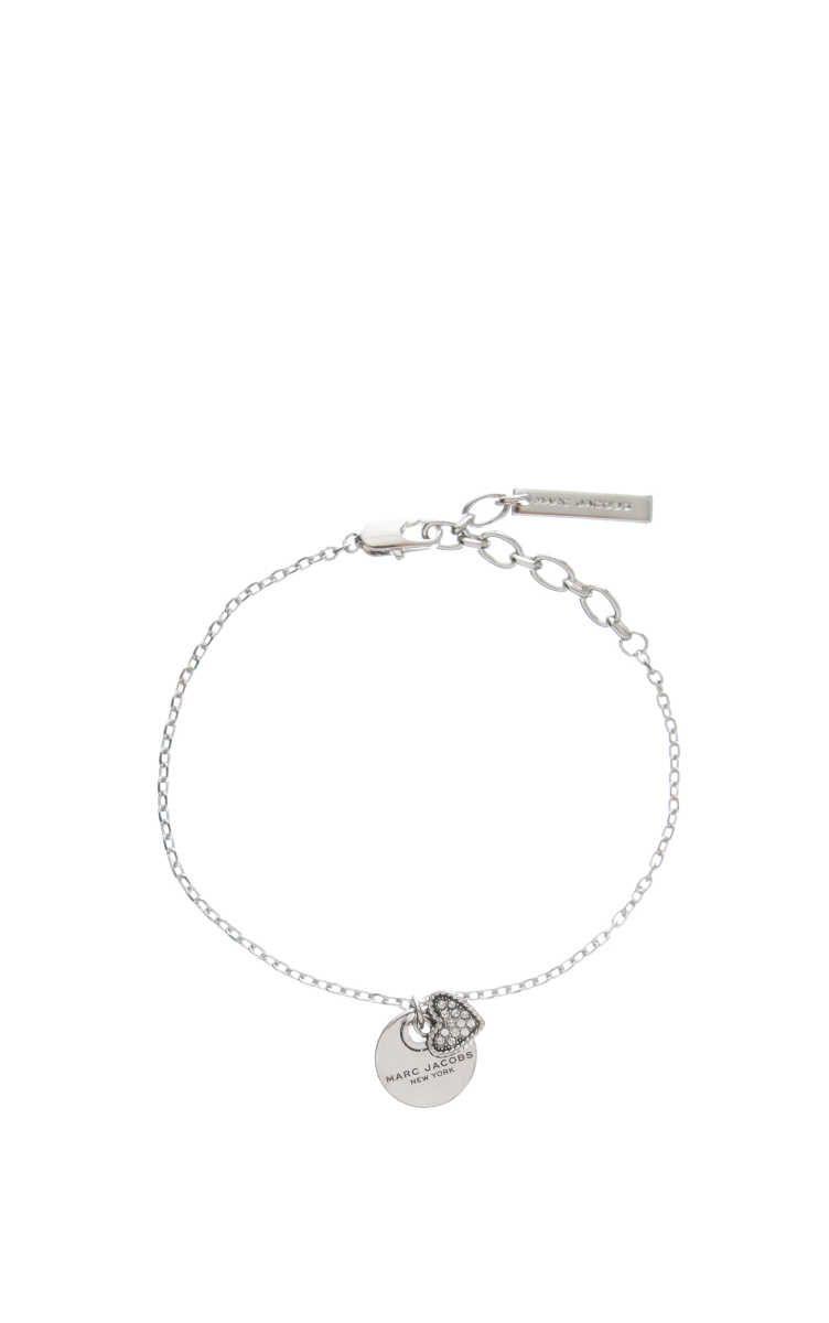 Marc Jacobs MJ Coin Bracelet in Metallic Silver 5jcY3