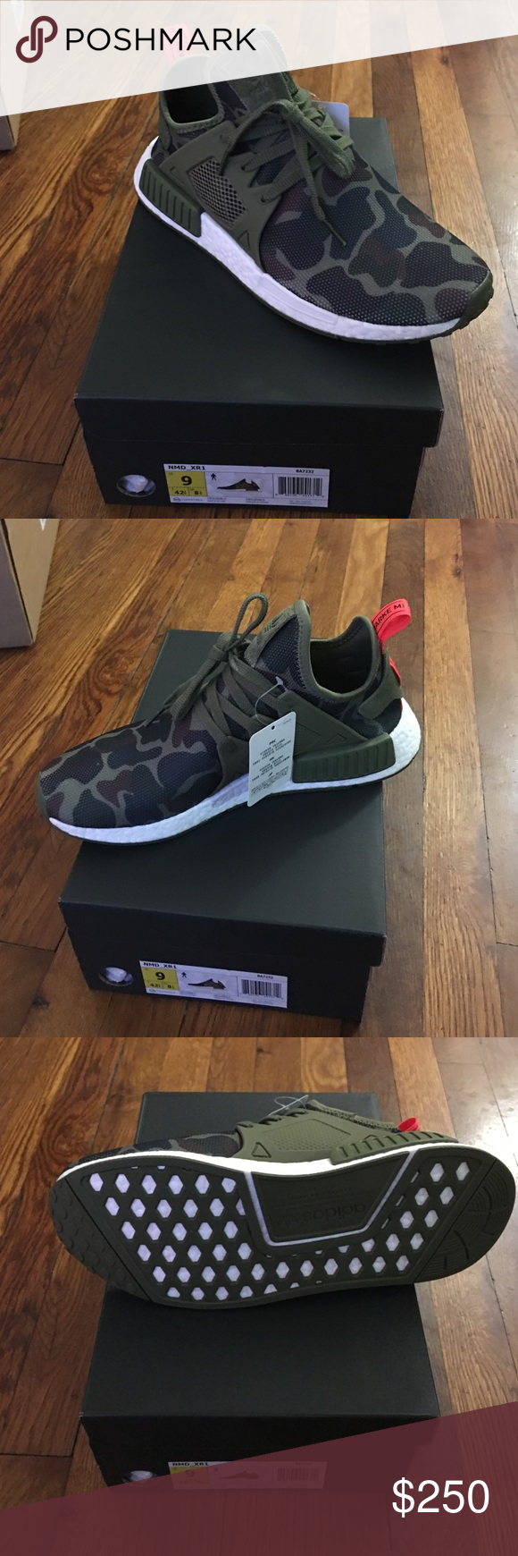 Adidas NMD XR1 Camo Adidas XR1 in Camo mens size 9. Adidas Shoes Athletic Shoes