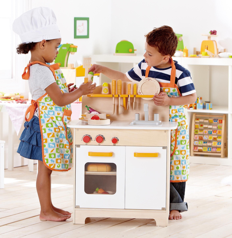 Preschool Kitchen Furniture Gourmet Kitchen Preschool Resources By Hape Toys Pretend And