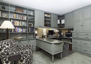 No Living Room Change It To An OfficeTraditional Home Office