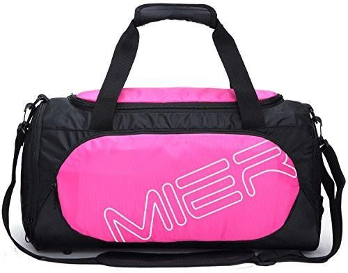 8f3948b50 MIER Small Gym Sports Bag for Men and Women with Shoes Compartment ...