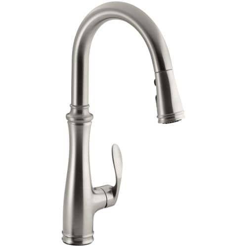 Kohler K-560 Bellera Pull-Down Kitchen Faucet with DockNetik ...